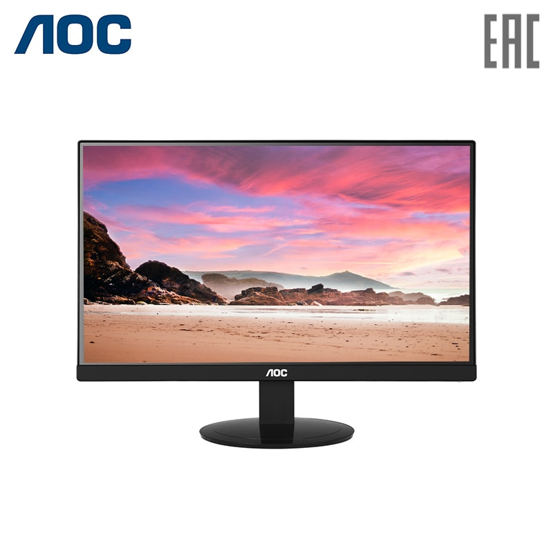 Monitor AOC 23.8 I2480SX Black (IPS, LED, 1920x1080, 5 ms, 178/178, 250 cd/m, 20M:1, +DVI) 1p