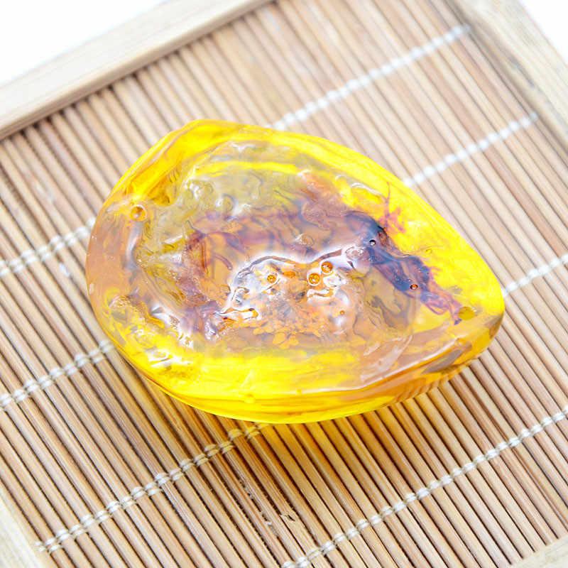 שקוף אבן דבורה מעורב צבע שעוות דבורים תליון שעוות חרקים נדלים פרפר דבורת פרת משה רבנו עקרב סרטן גוף דגימת תכשיטים
