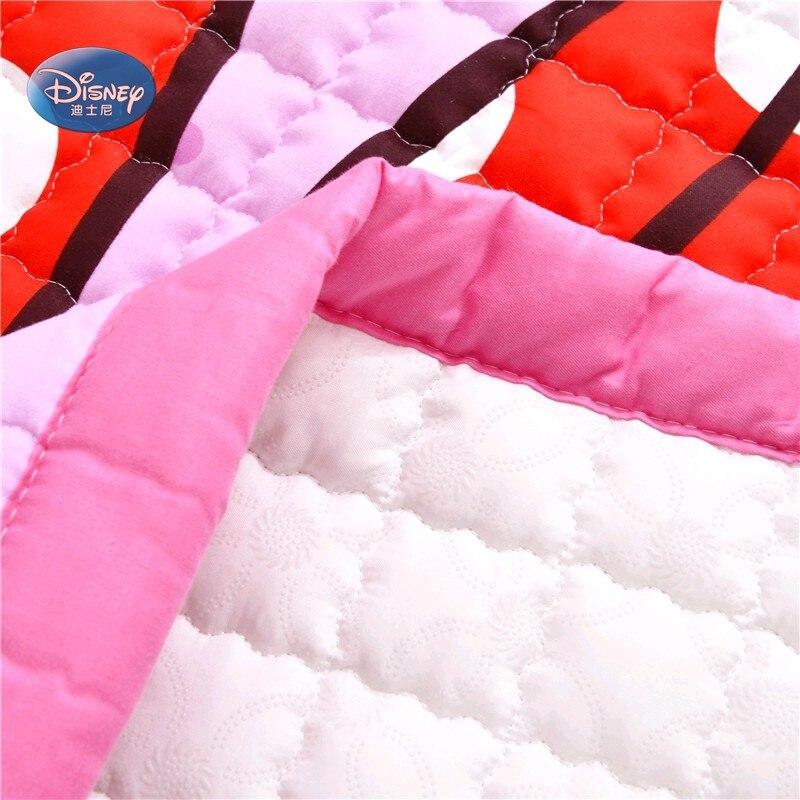Disney Cartoon rose Minnie Mickey Mouse bébé filles garçons ramper jeu tapis tapis 150X200 CM tapis 100% coton - 4