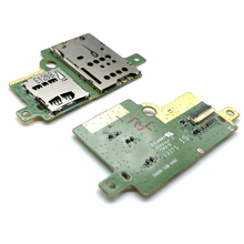Soporte para lector de tarjetas SIM Lenovo Pad S6000 S6000 S6000H, Conector de ranura flexible, piezas de repuesto para placa de Cable