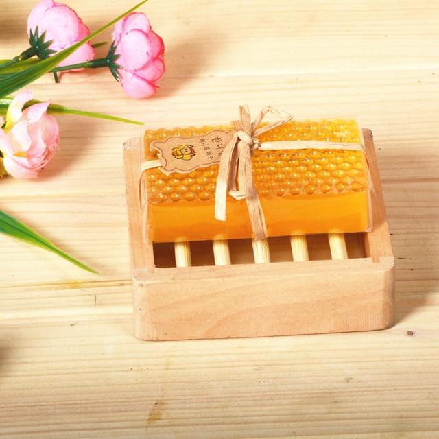 HandMade Honey Soap Whitening Peeling Glutathione Arbutin Kojic acid Soap Skin Care Lover's Gifts 2
