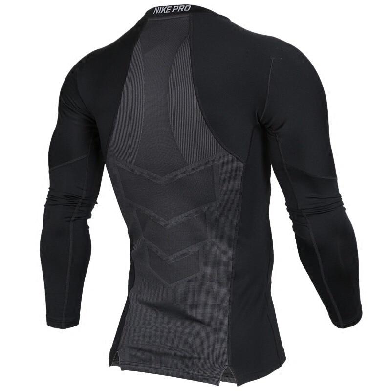 Original New Arrival 2018 NIKE AS M NP HPRWM TOP LS COMP Mens T-shirts Long sleeve Sportswear