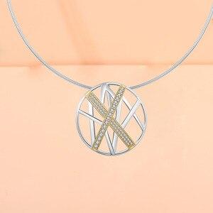 Image 3 - ファッション女性ネックレスジュエリーネックレスペンダント女性925シルバーネックレス新着チョーカーネックレスのペンダント2019