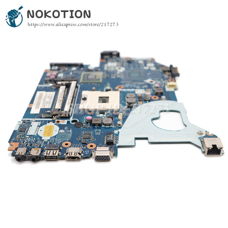 NOKOTION Para Acer aspire 5750 5750G Laptop Motherboard P5WE0 LA-6901P MBR9702003 MB. R9702.003 HM65 UMA PLACA PRINCIPAL DD3
