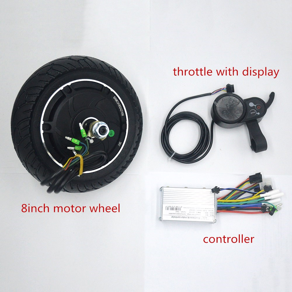 Electric Vehicle Parts Nicecnc 22mm Electrical Thumb Twist Grip Bar Throttle Battery Indicator Button Switch Kit For E-motorcycle E-bike E-scooter