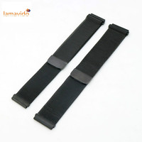 Milanese Loop Strap 18mm 20mm 22mm Universal Stainless Steel Watch Band Quick Release Bracelet With Magnetic