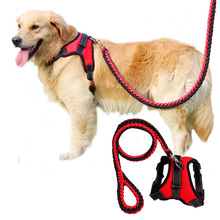 Spring/autumn Pet Chest Straps Nylon Collar Harness Pets Personalized Large Dog Vest Supplies S/M/L/XL