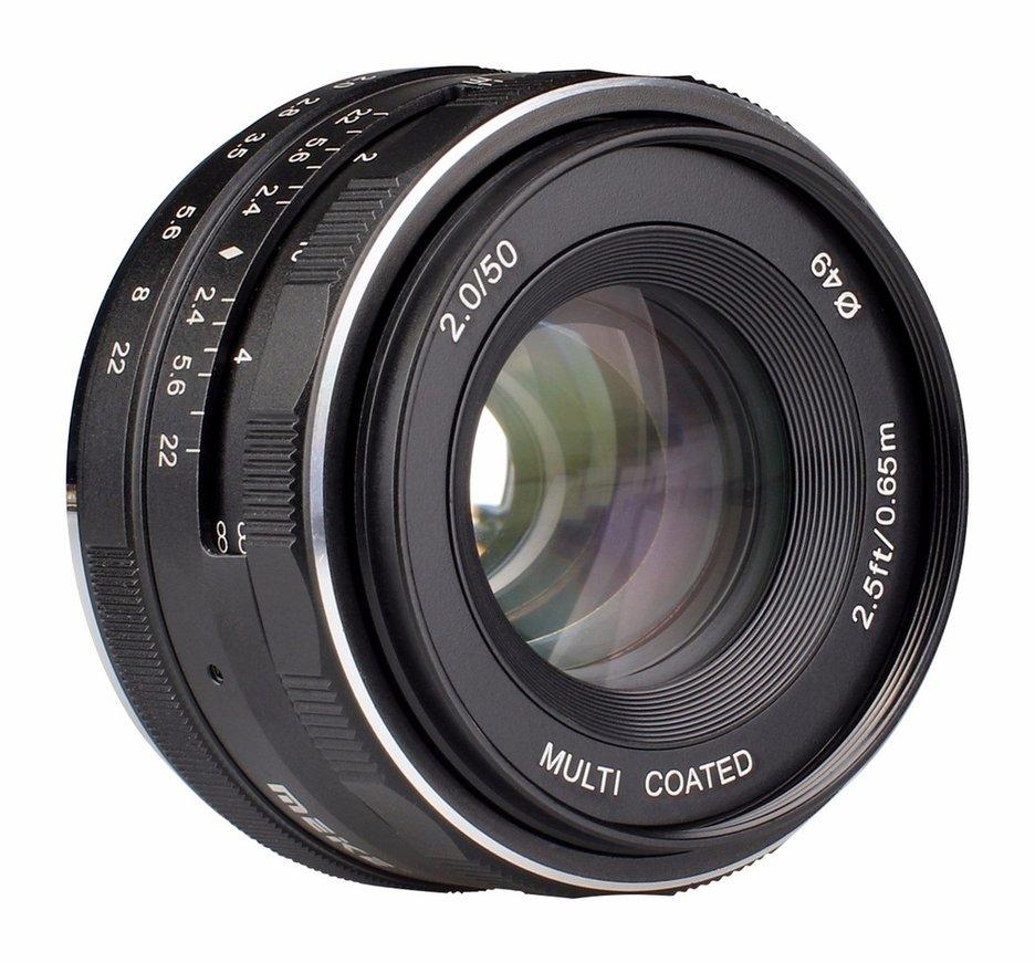 Meike MK-EM-50-2.8 50mm f2.8 For Large Aperture Manual Focus lens APS-C For Canon for EOS M1 M2 M3 Camera цена и фото