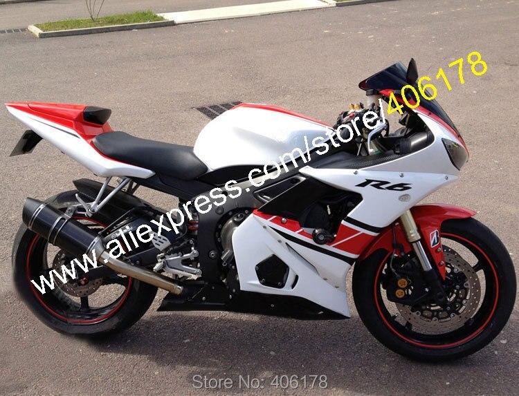 Hot Sales,Motorbike Fairing For Yamaha YZF R6 05 YZF-R6 2005 YZF600 Bodywork Motorcycle Fairing Body Kit (Injection molding) запчасти для мотоциклов yamaha yzf600 r6 03 04 abs