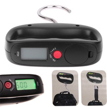 Pocket Portable 50kg/10g LCD Digital Electronic Kitchen Hand Scale Luggage Hanging Scale Backlight Balance Weighing Tools