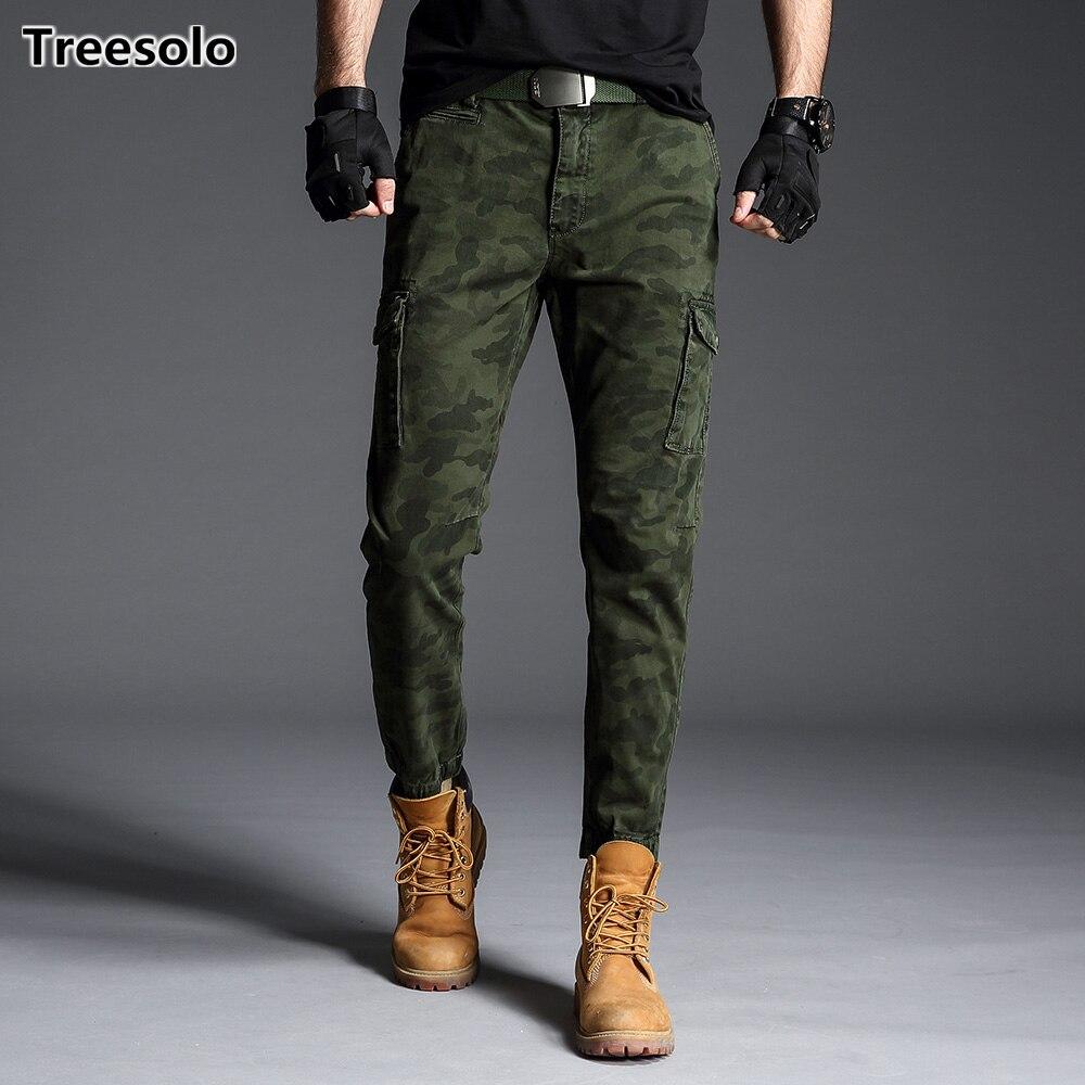 Mens Camo Cargo Hosen 2019 Neue Ankunft Hosen Männer Taktische Militärische Camouflage Arbeit Hosen Baumwolle Multi Tasche Hose 902 Mutter & Kinder