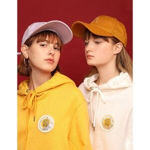 Image 2 - Toyouth 2019 Women Sweatshirts 새 도착 봄 긴 소매 느슨한 솔리드 컬러 후드 여성 캐주얼 스웨터