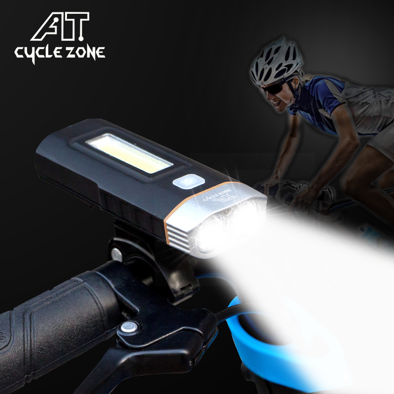 Cycle Zone Multi-function Front Light USB Rechargeable Lamp Cycling Light Bike Headlight Power Bank Bicycle Flashlight Lights bike cycling led lights usb rechargeable mtb bicycle head front light rear tail lamp waterproof flashlight 3 modes torch set m25