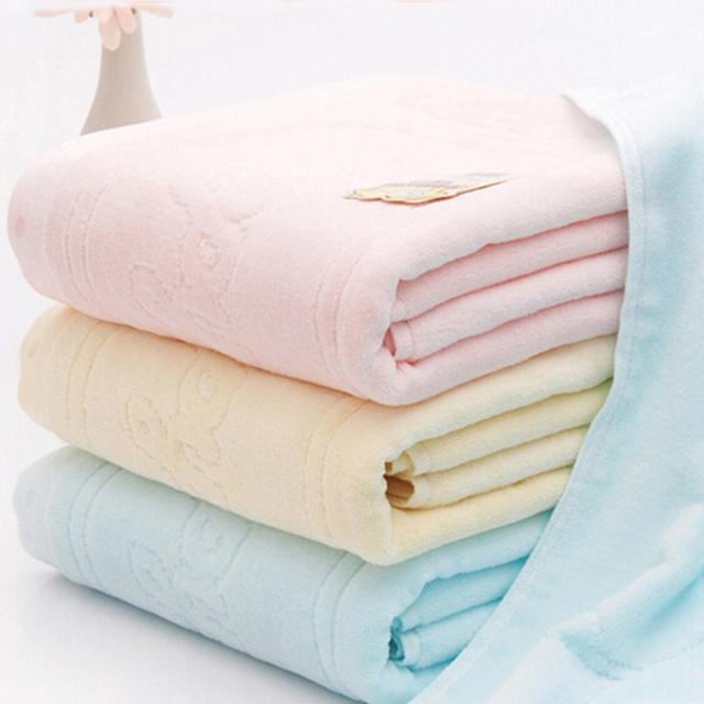 Banho do bebê 100% algodão 105*105 centímetros de têxteis de algodão recém-nascidos towel bebê dos desenhos animados banho towel algodão engrossado bebê toalhinha 3 cores