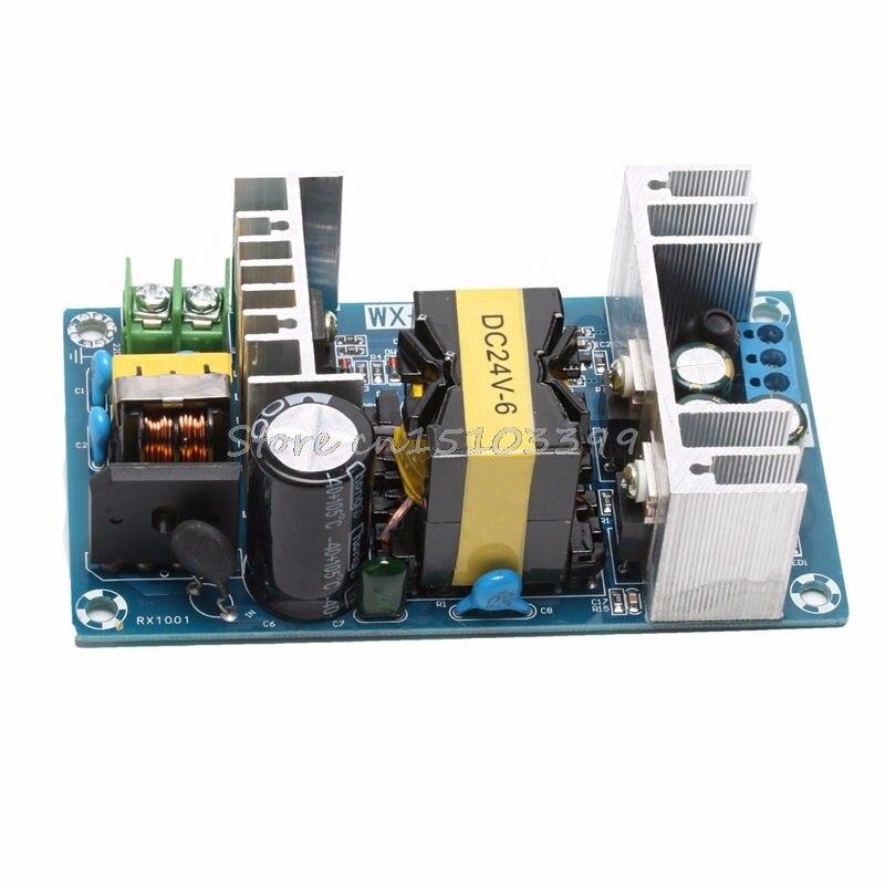 AC 100-240V to DC 24V 6A 150W Power Supply AC-DC Power Module Board Switch Drop Ship
