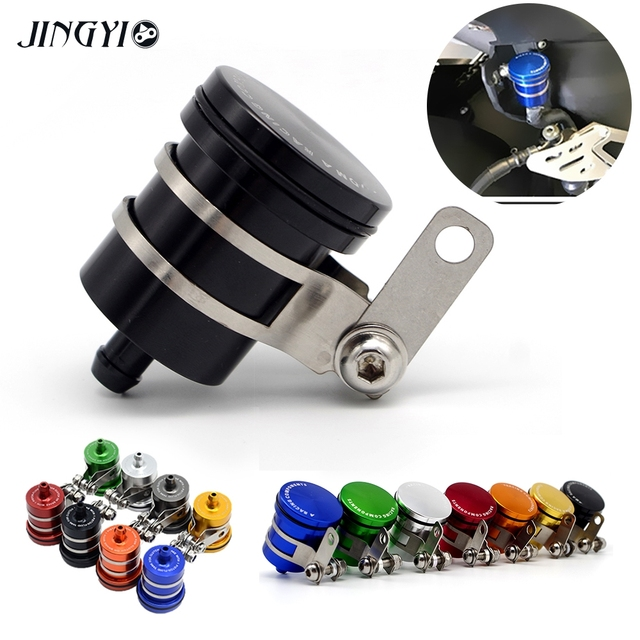 Cnc Moto Brake Reservoir Fluid Lever Clutch Part Motorcycle Bike For