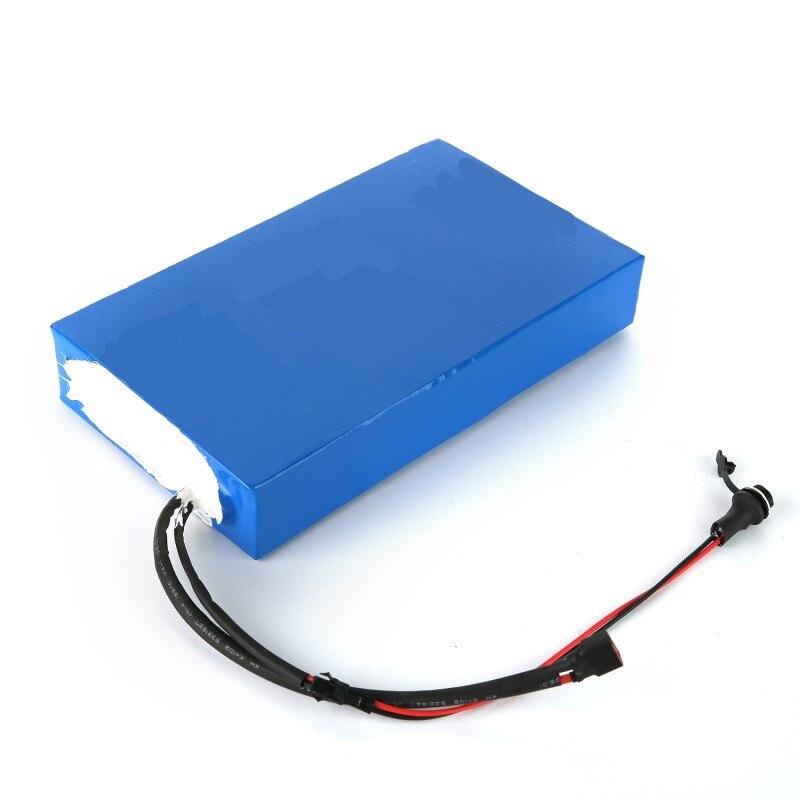36 В 10ah lithum аккумулятор квадратный тип литиевая батарея для велосипеда самокат с зарядным устройством