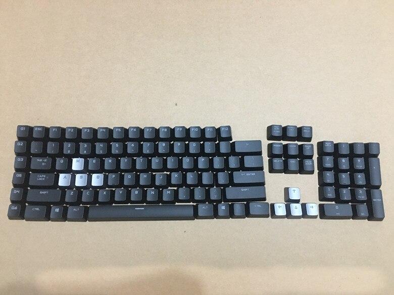 1 set original new keycaps for Logitech G710 genuine black backlit mechanical keyboard keycap free shipping
