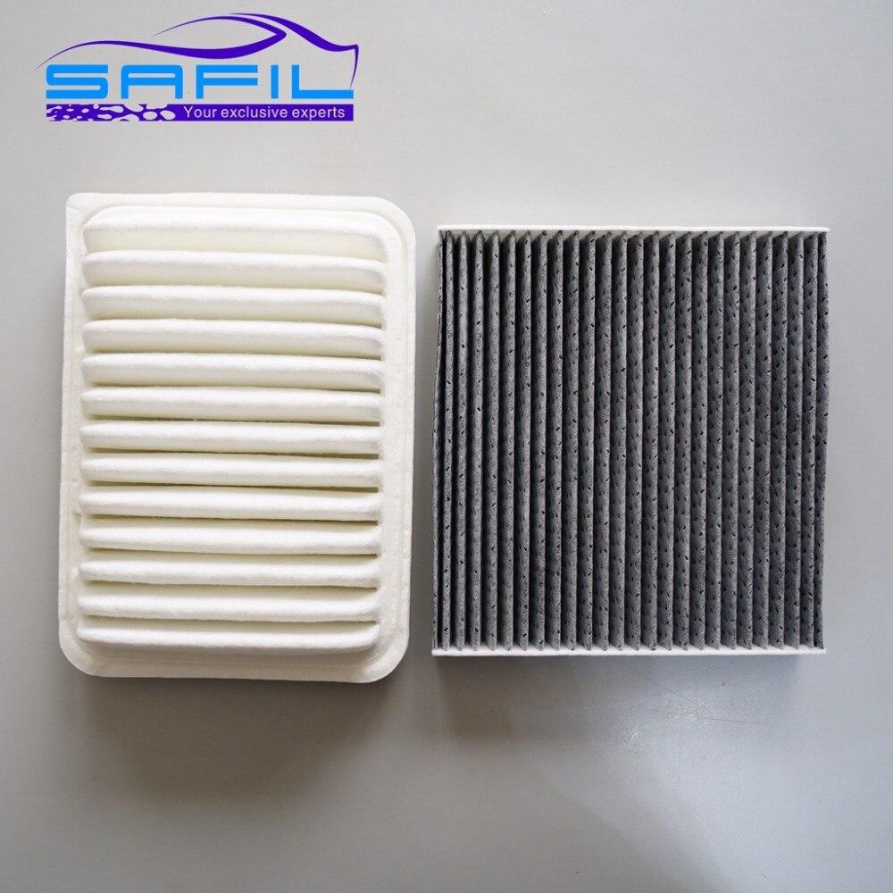 Air Filter&Cabin Air Filter for Toyota Corolla Scion Pontiac Oem:17801-21050 87139-06060/0N010