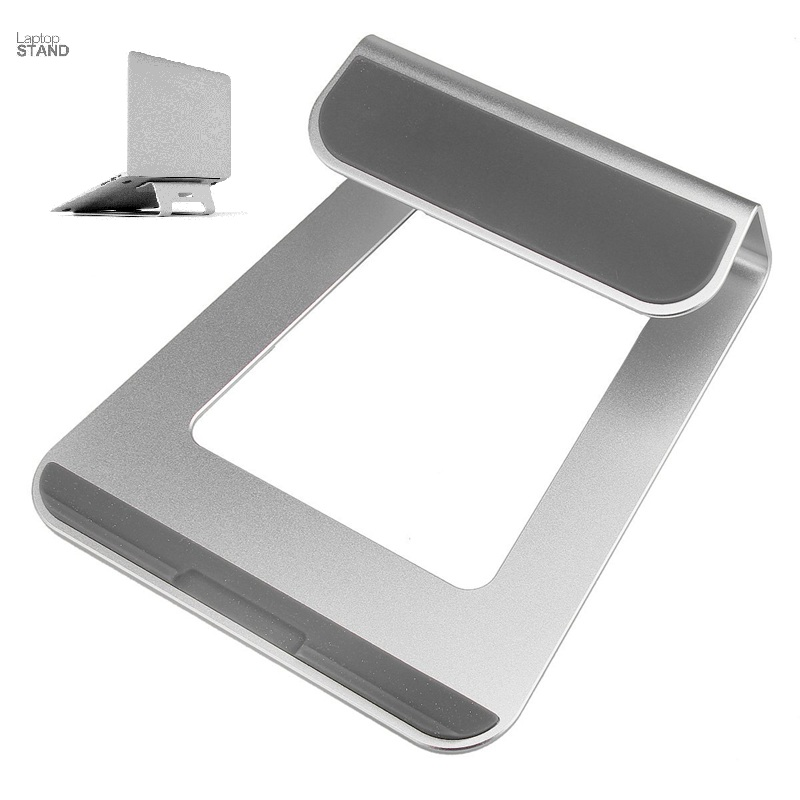 Universal Aluminum Laptop Stand Tablet Dock Holder Bracket for Apple Macbook Air Pro For 11 - 15 Inch PC Laptop Notebook