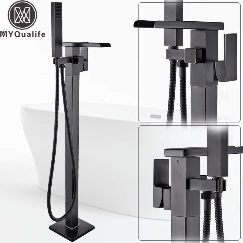 Aliexpress Com Buy Floor Mounted Waterfall Spout Tub