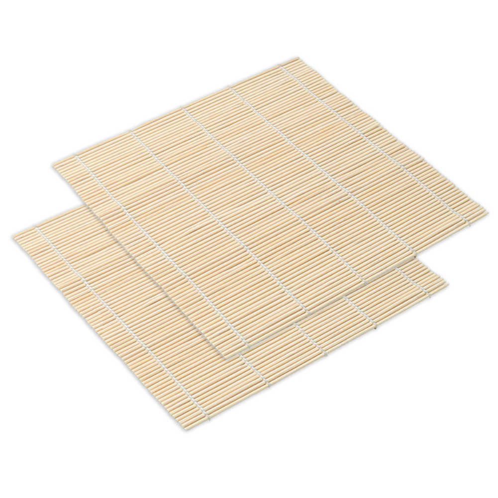 Bambu fabricante de sushi rolo rolo molde sushi rolo arroz carne legumes diy sushi que faz a máquina cozinha sushi ferramentas