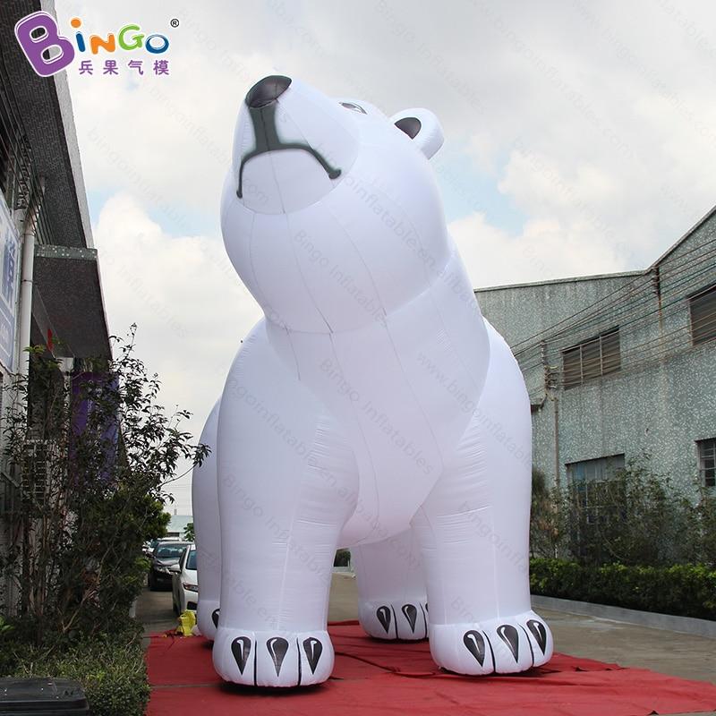 christmas polar bear, outdoor giant inflatable polar bear, 6m high giant polar bear decoration-inflatable toychristmas polar bear, outdoor giant inflatable polar bear, 6m high giant polar bear decoration-inflatable toy