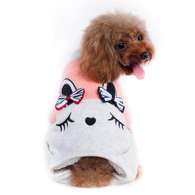 Ropa de perro caliente de peluche de Mono para perros pequeños de ...