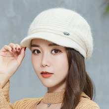 New Women Knitted Hats Autumn Winter Cap Fashion Warm Hat Female Lady winter hat 2016 new lady korean hat fashion cashmere knitted hat thicken double button other ear cap hats for women patchwork