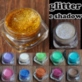 Profesional Presionado Pasty Cream Glitter Maquillaje de Sombra de Ojos Shimmer Mate Sombra de Ojos Maquillaje de Sombra de Ojos Glitter 15 Colores Opciones