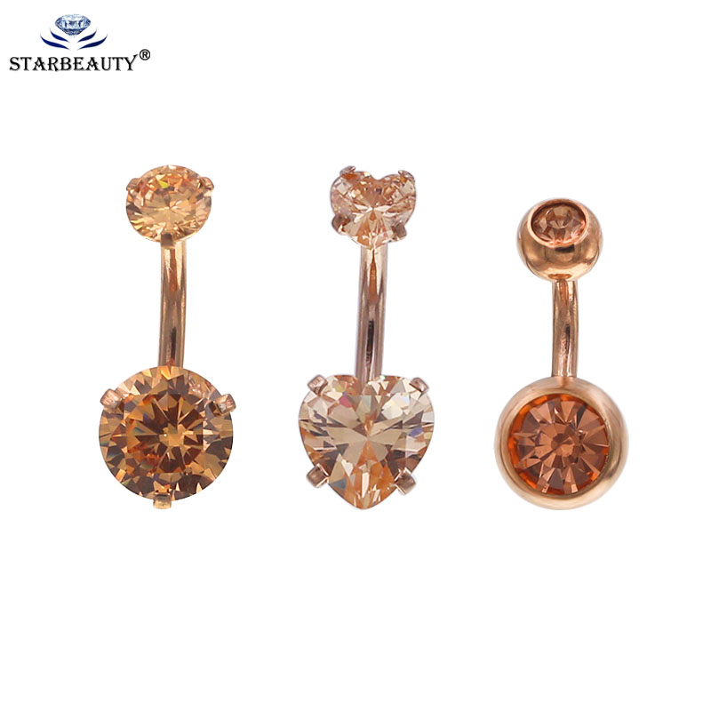 Starbeauty 1pc Rose Gold Color