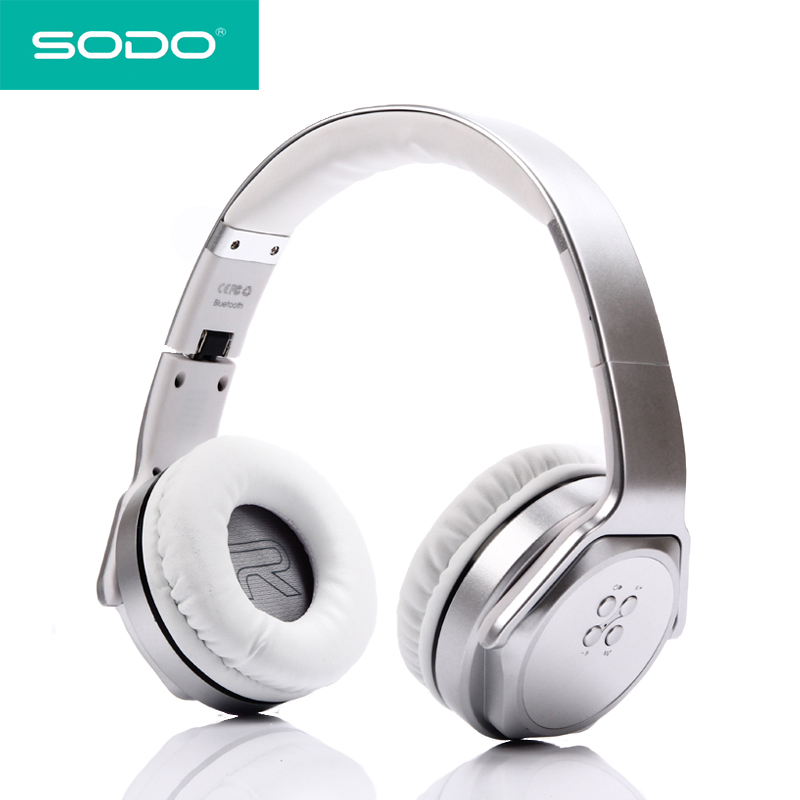 SODO MH3 Bluetooth Headphone Twist out Speaker Bluetooth 2 in 1 ...