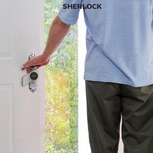 Image 5 - Sherlock Wireless Door Lock Keyless Smart Lock Fingerprint + Password Integrated Electronic Lock Bluetooth Control With 1Pc Key