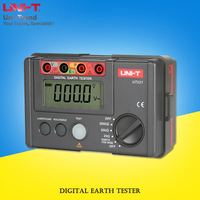 UNI-T UT521 Digital Earth Tester; Ground Resistance Tester / Data Storage / Full Symbol Display / Insulation Protection