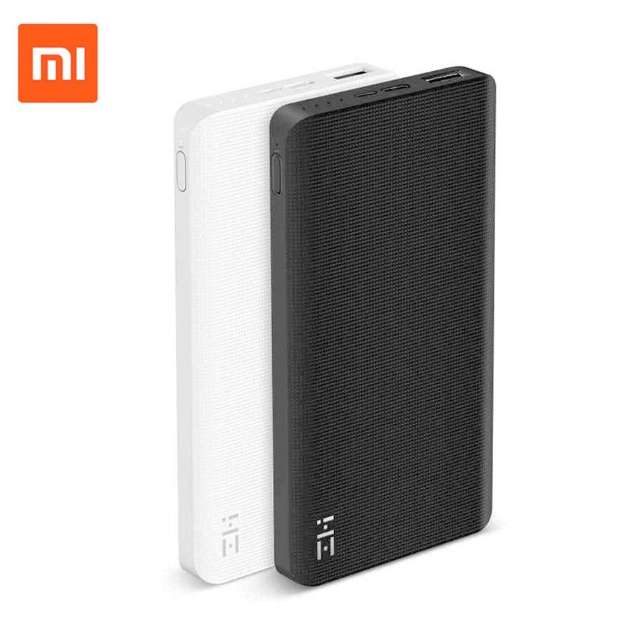 Original Xiaomi ZMI 10000mAh Power Bank Two-way Quick Charge 2.0 With Type-C Charger PowerBank 10000mAh For iPad Mobile Phone original zmi power bank unit