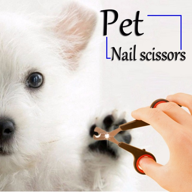 1Pc Black Pet Nail Scissors Pet Dog Cat Animal Nail Toe Claw Clipper Scissors Trimmer Cutter Grooming Tool Dog Products Supplies