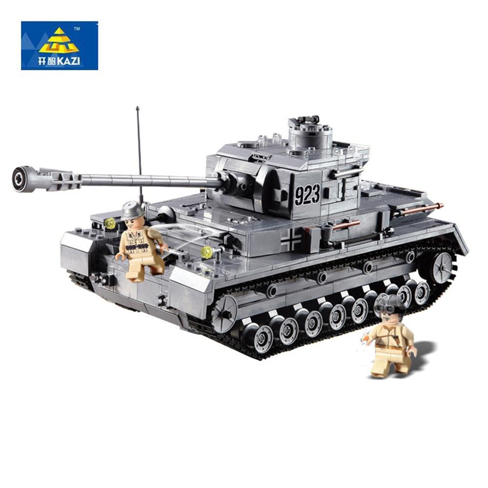 Germany Building Toys For Boys : Kazi  pcs building blocks german military tank