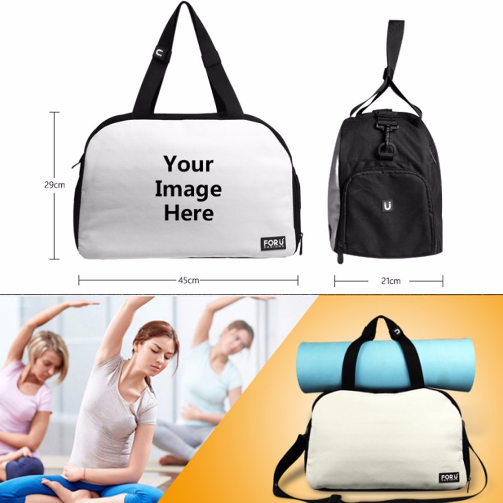 d0a4b2ee41c3 ᓂFORUDESIGNS Blue Eye 3D Design Mens Sport Gym Sack Bags for Women ...
