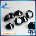 Free shipping 100pcs 3.5~15mm 5A black Brilliant cubic zirconia stone Machine Cut Round loose CZ stone