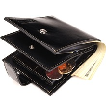 SUONAYI Fashion Men wallet pu leather pocket Short Wallet coin purse Designer Handy men luxury 3 Fold Male Purse Cards