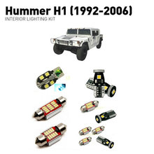 Led interior lights For Hummer H1 1992-2006  20pc Led Lights For Cars lighting kit automotive bulbs Canbus