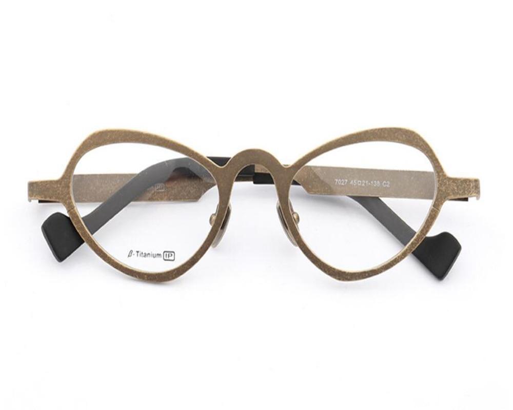 Progressive Nähe Titan brennweite Sehen Retro Von Reinem Der Rahmen Rot Geruhen Multi In Weit Vollrand Mode Lesen Marke Brillen HA1YZ1
