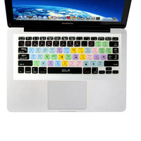 New US Keyboard Cover Skin Latest Functional Final Cut Pro Shortcut Photoshop PS Silicone For Macbook