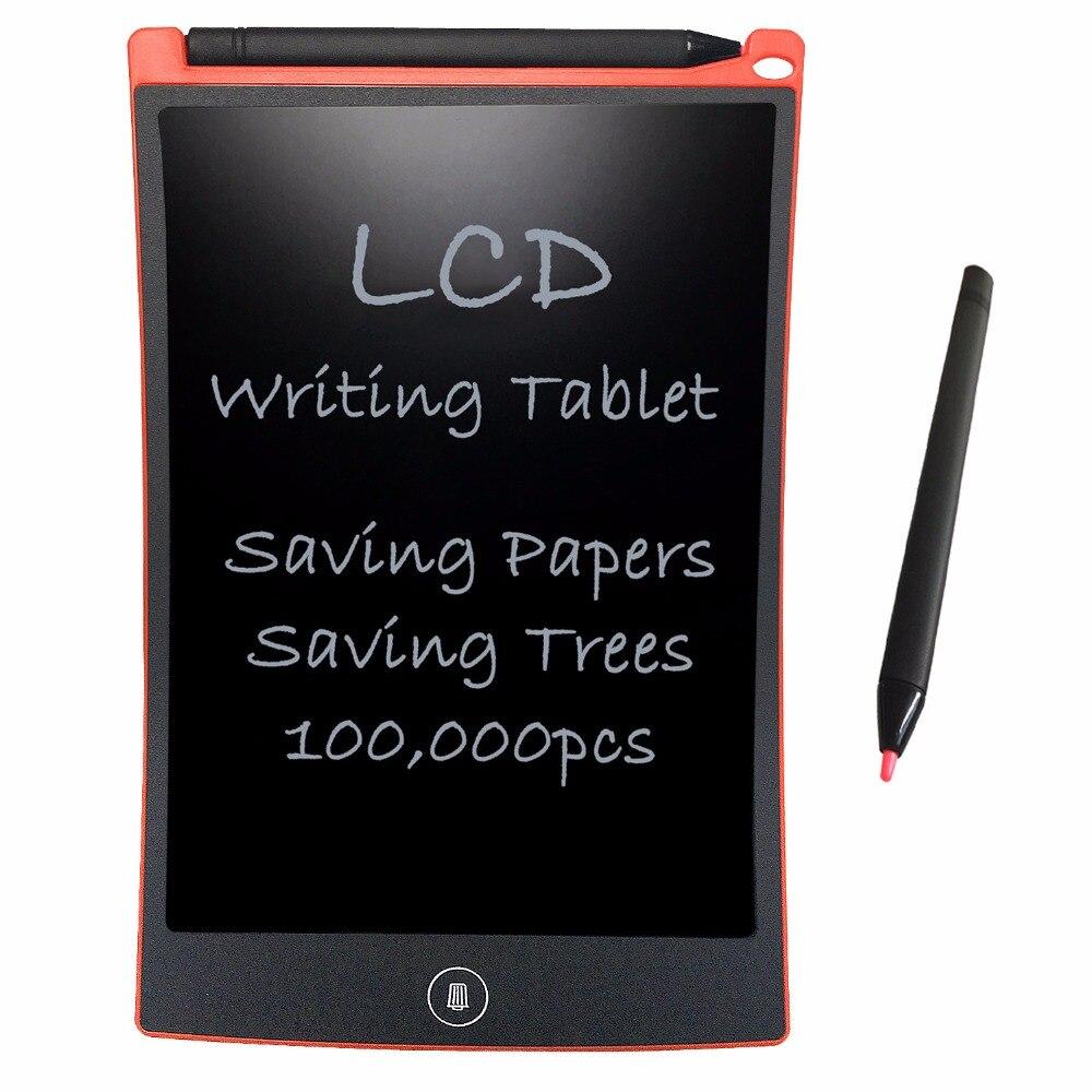 NEWYES Red 8,5 palce červené digitální tablety přenosné 8,5 palce Mini LCD psaní Tablet e-Writer kreslení Doodle Board Board Board