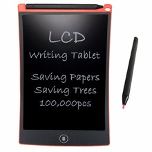 NEWYES Red 8.5 inch Red Digital Tablets Portable 8.5 Inch Mini LCD Writing Tablets e-Writer Drawing Doodle Board Message Board
