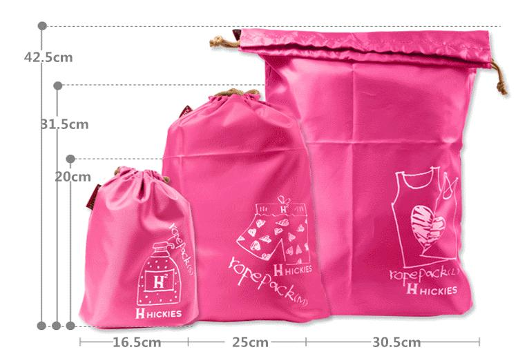 Drawstring Travel Bags