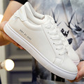 Los hombres zapatos de moda casual zapatos Para Caminar zapatos de los pares zapatos blancos con cordones yardas grandes zapatos calzado deportivo tenis femenino mujer