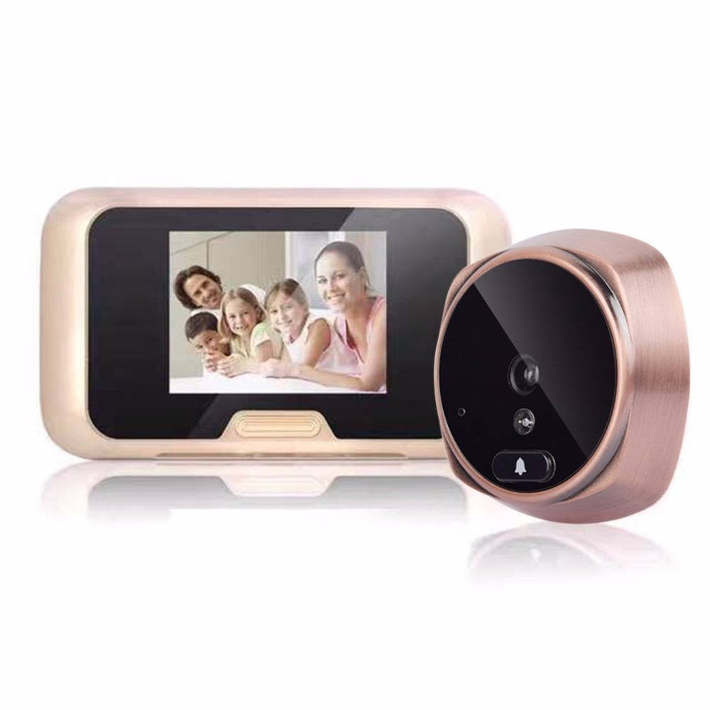 513A 3.0 Inch Display Home Security Peephole Door Viewer Infrared Night Vision Digital Intelligent Video Doorbell Camera513A 3.0 Inch Display Home Security Peephole Door Viewer Infrared Night Vision Digital Intelligent Video Doorbell Camera