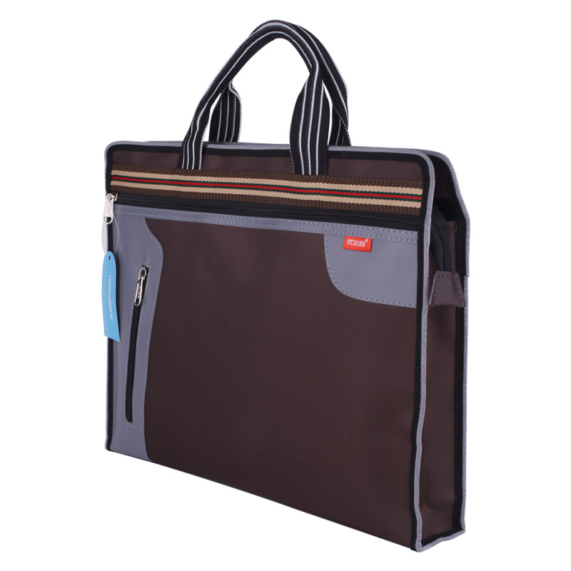 Fashion Portable File Bag A4 Business Office File Bag Student Textbook Data File Pocket Fashion Creative Tote Oxford Cloth Bag