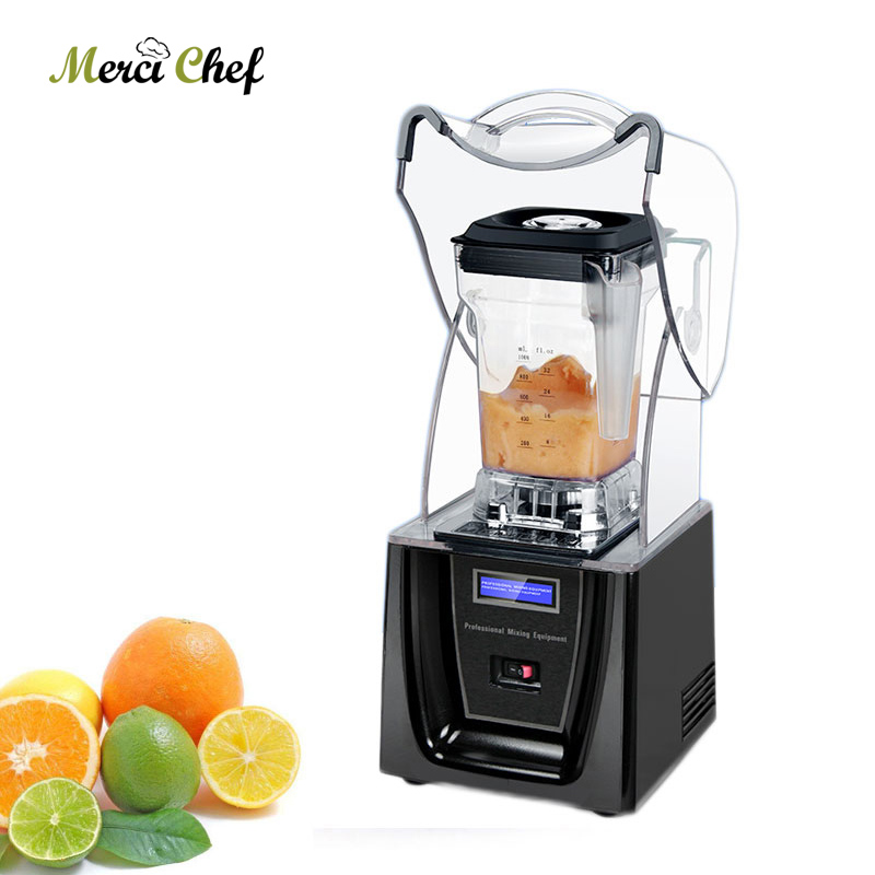 ITOP Mixer 1.5L Heavy Duty Commercial Blender Professional Power Blender Mixer Juicer Food Processor With Blade Food Grinder double commercial milk shake blender professional power blender mixer juicer food processor